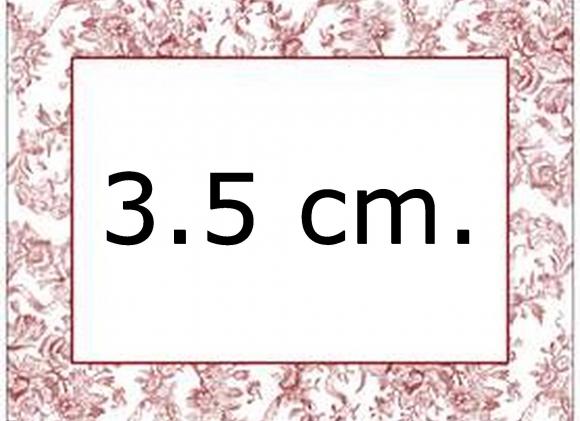 Diy 3.5 cm.